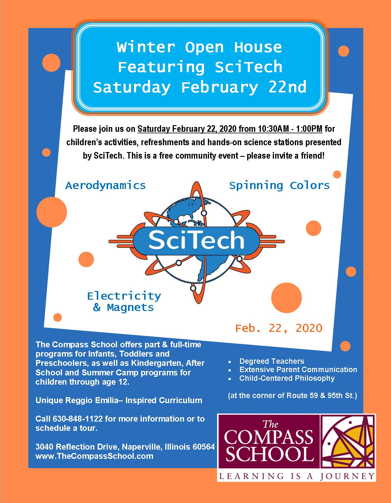 Open House South 2-22-20 SciTech Print