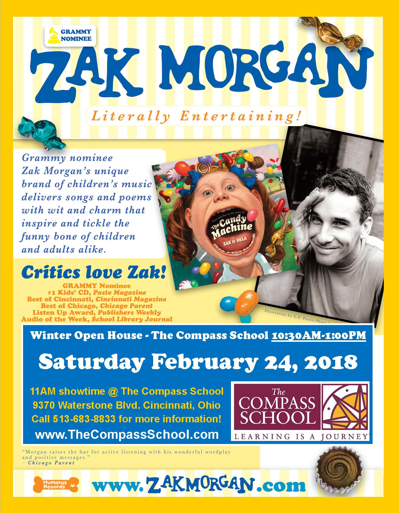 Zak Morgan 2-24-18 Open House